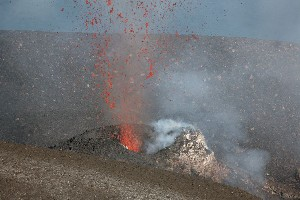 Small Strombolian Eruption