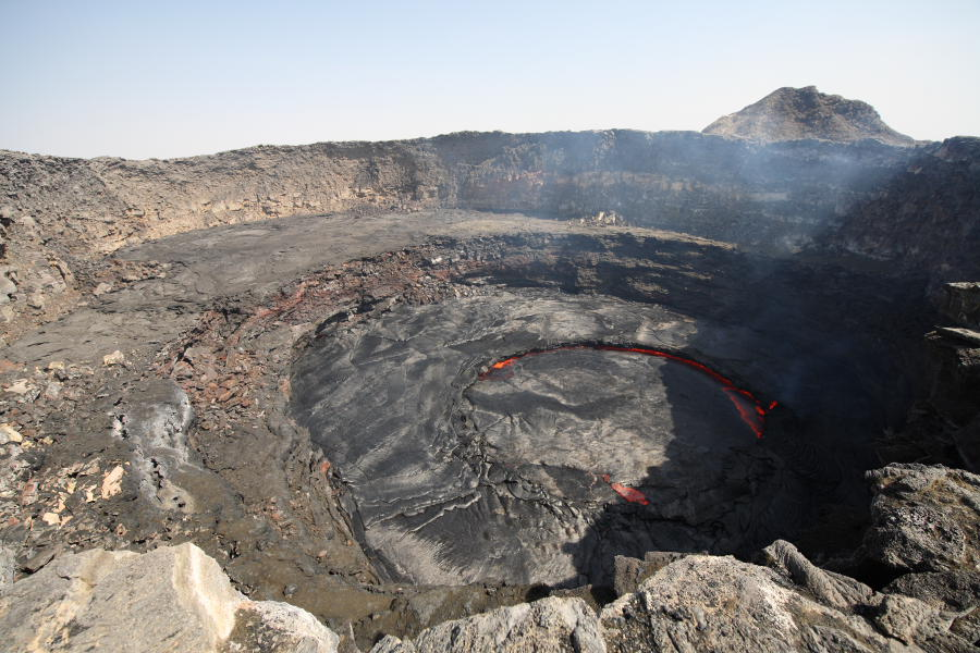 Erta Ale Crater and Lava Lake